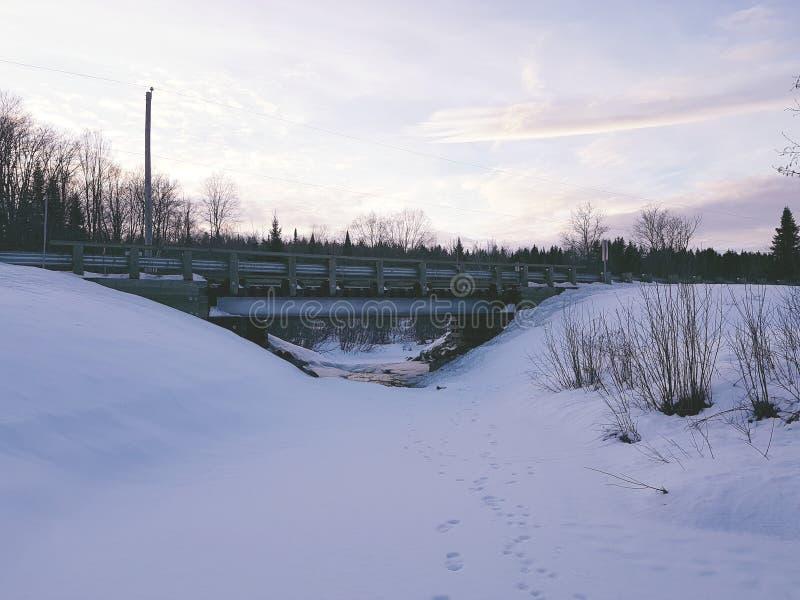 从加拿大的风景 库存图片