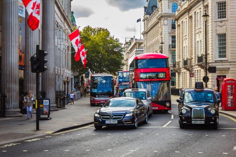 加拿大的高级委员会在英国 免版税库存图片