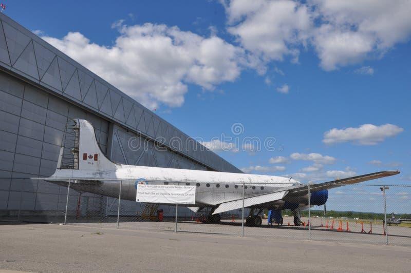 加拿大航空和太空博物馆 库存照片