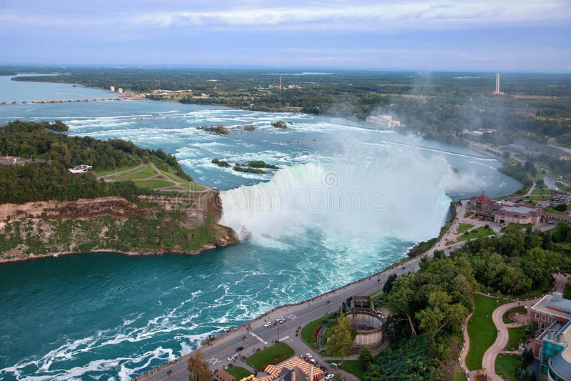 加拿大落尼亚加拉 库存照片