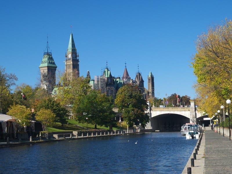 加拿大议会 图库摄影
