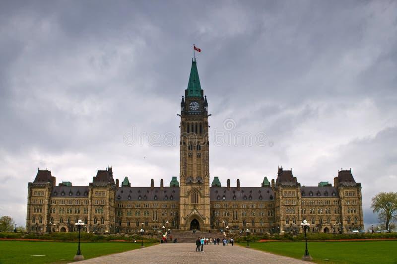 加拿大议会 免版税库存照片