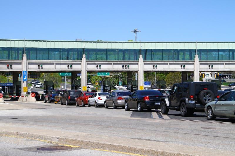 加拿大过境 免版税库存图片