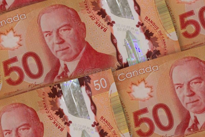 加拿大金钱背景 加拿大美元样式 cad 免版税图库摄影