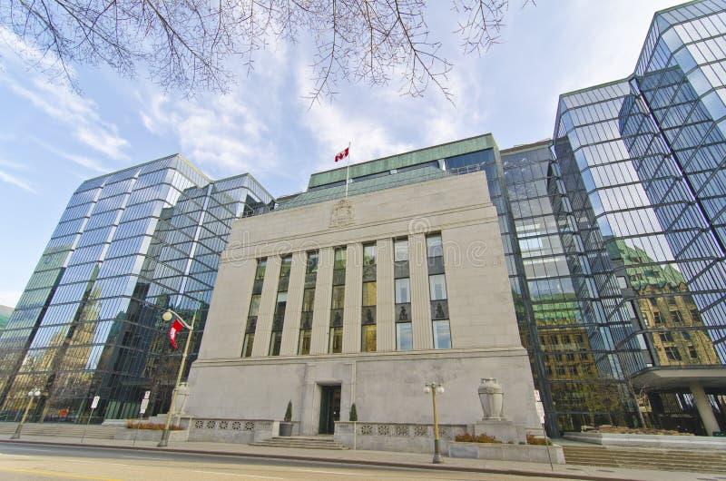加拿大,渥太华,加拿大的银行 图库摄影
