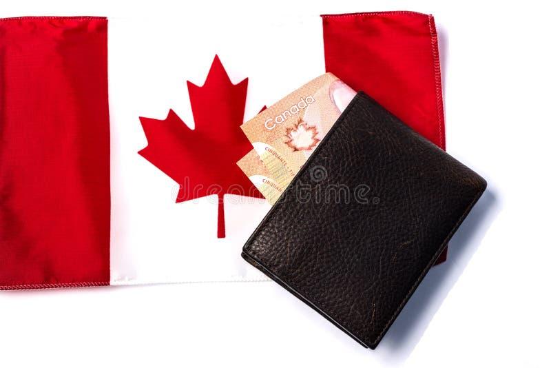 加拿大经济 免版税库存照片