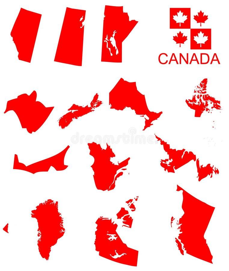 加拿大 向量例证