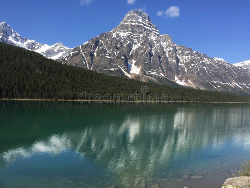 加拿大` s山 免版税库存图片