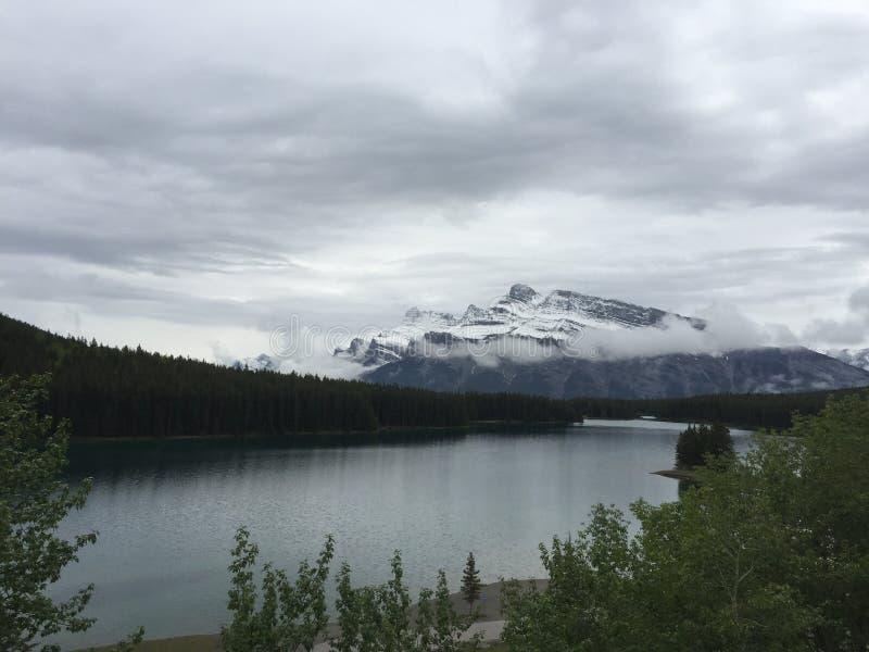 加拿大` s湖 免版税库存照片