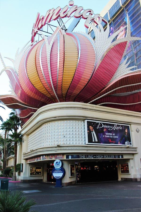 维加斯Flemingo赌博娱乐场 免版税库存照片