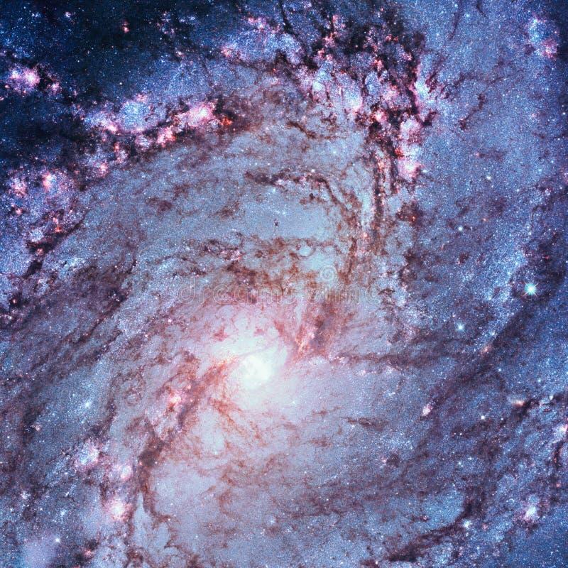 更加杂乱83,南部的轮转焰火星系,在星座九头蛇的M83 图库摄影
