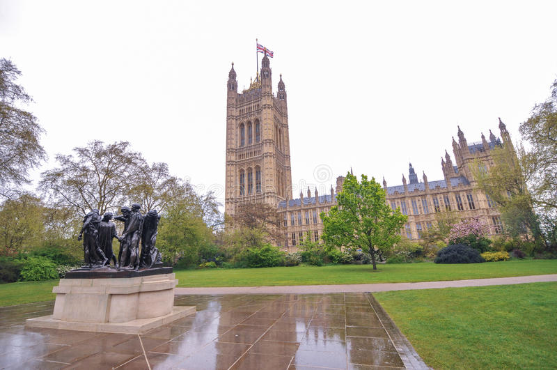 加来,伦敦,英国的市民 图库摄影