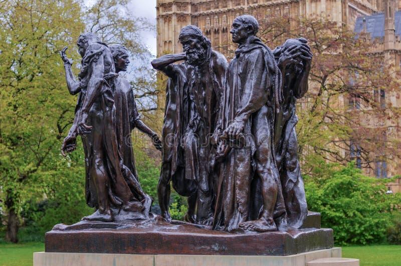 加来,伦敦,英国的市民 库存图片