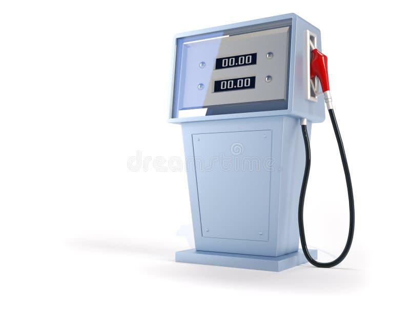 加油站 向量例证