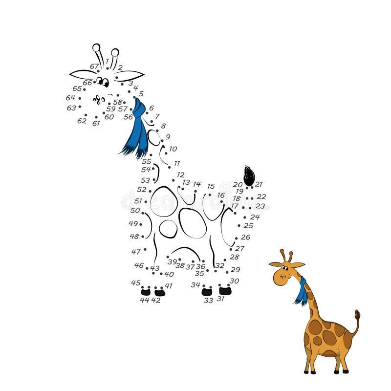 加点比赛 E 动物园动物  E 被隔绝的逗人喜爱的字符 皇族释放例证