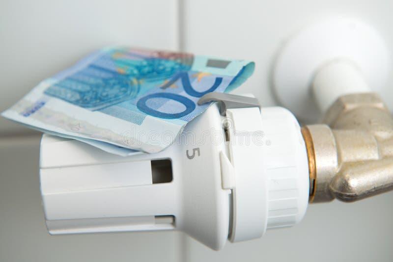 加热成本 免版税库存照片