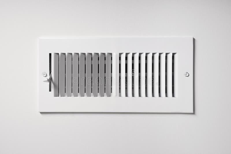 加热的/冷却的出气孔 图库摄影