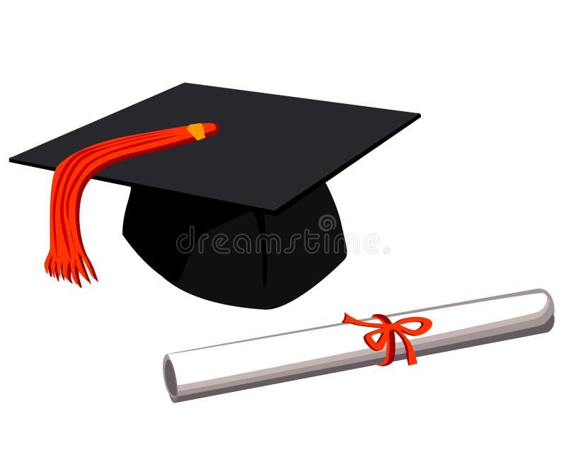 加盖毕业 库存图片