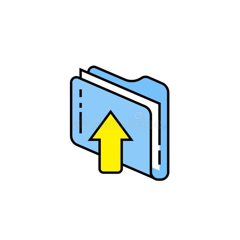 加载文件线象 库存例证