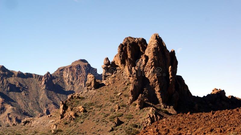 加那利群岛西班牙teide tenerife火山 库存图片