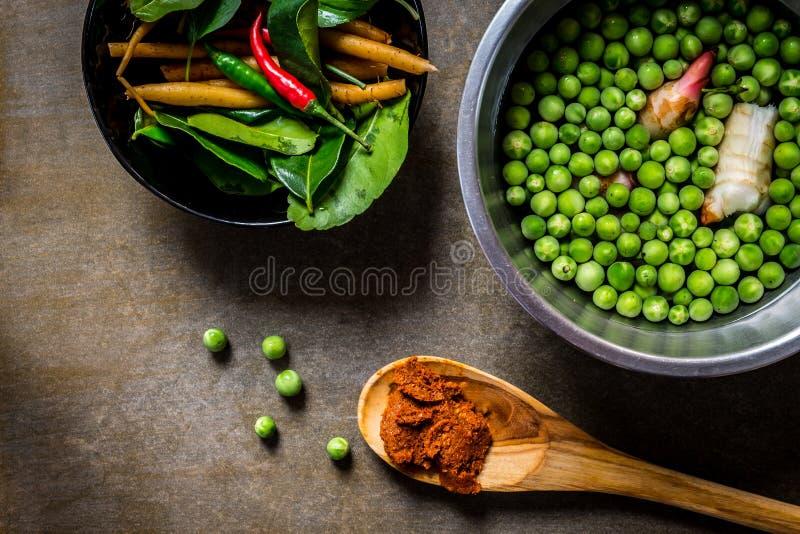 加香料蔬菜 库存图片