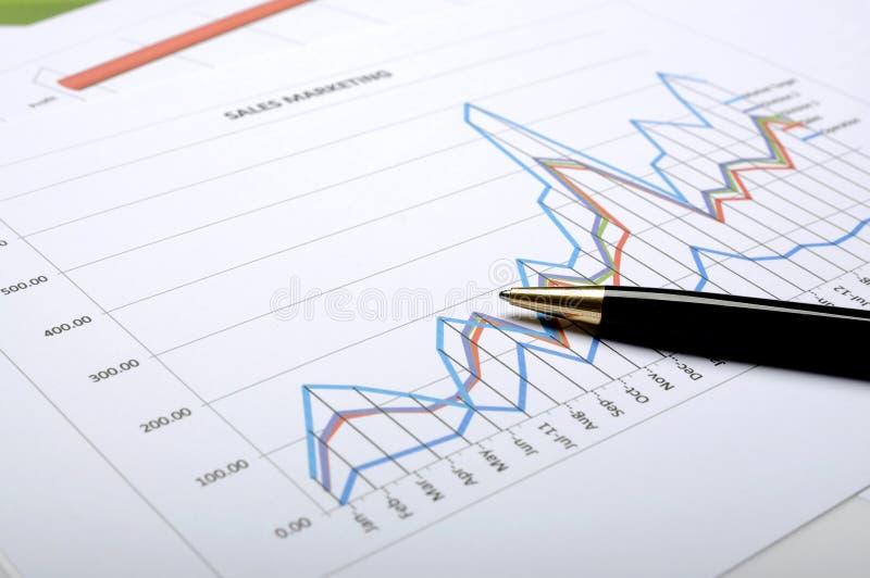 财务会计概念 免版税图库摄影
