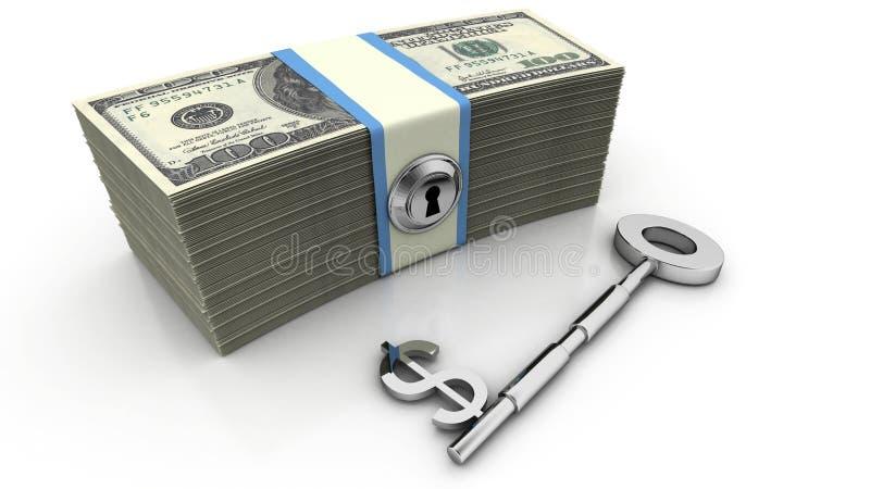 财务关键成功 向量例证