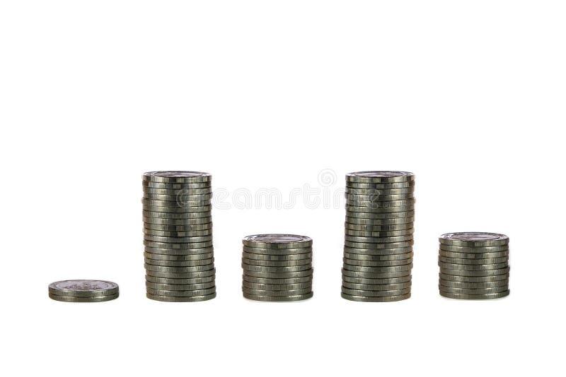 财务图形 免版税图库摄影