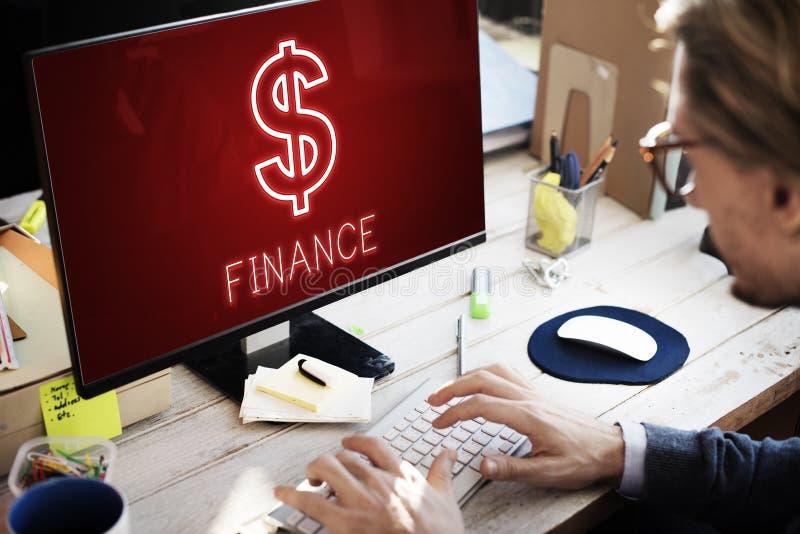 财务投资金钱现金象图表概念 库存照片