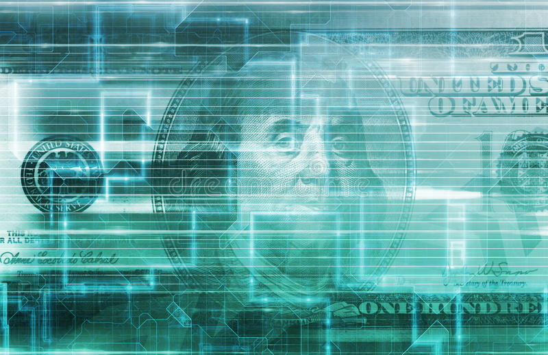 财务数字资料概念 向量例证