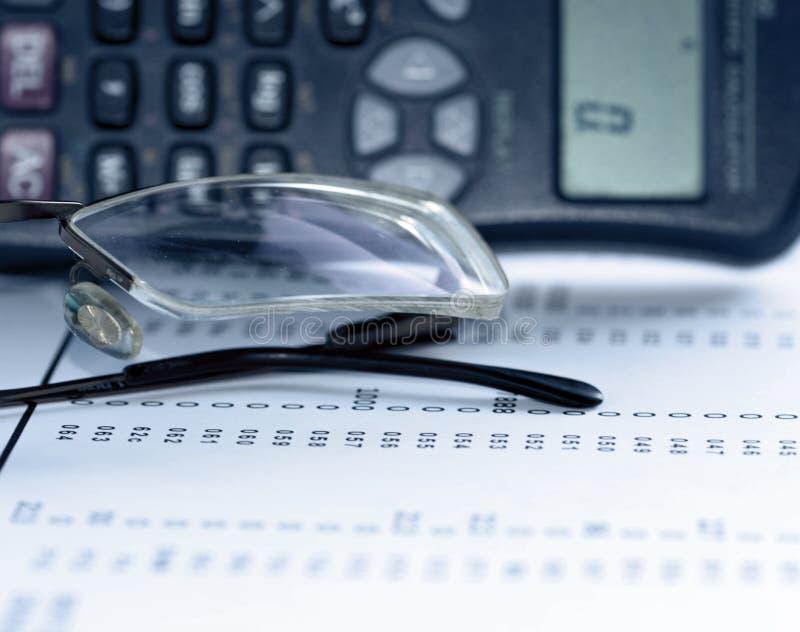 财务概念图象 免版税库存照片