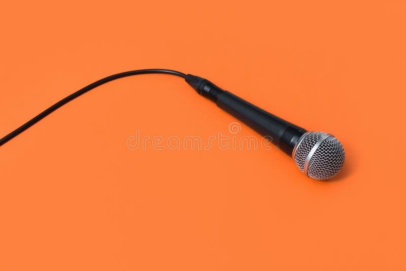 动态专业话筒, mic 免版税库存图片