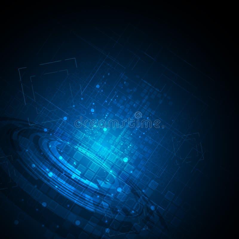 動態傳染媒介抽象背景高科技的概念和運動設計圖片