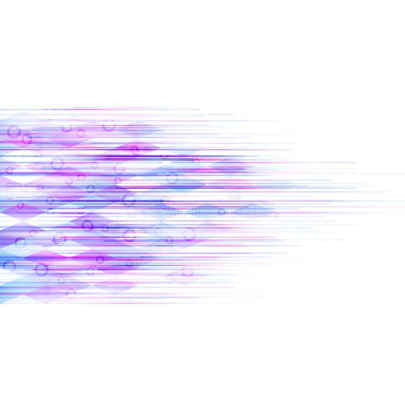 动态抽象的背景 向量例证
