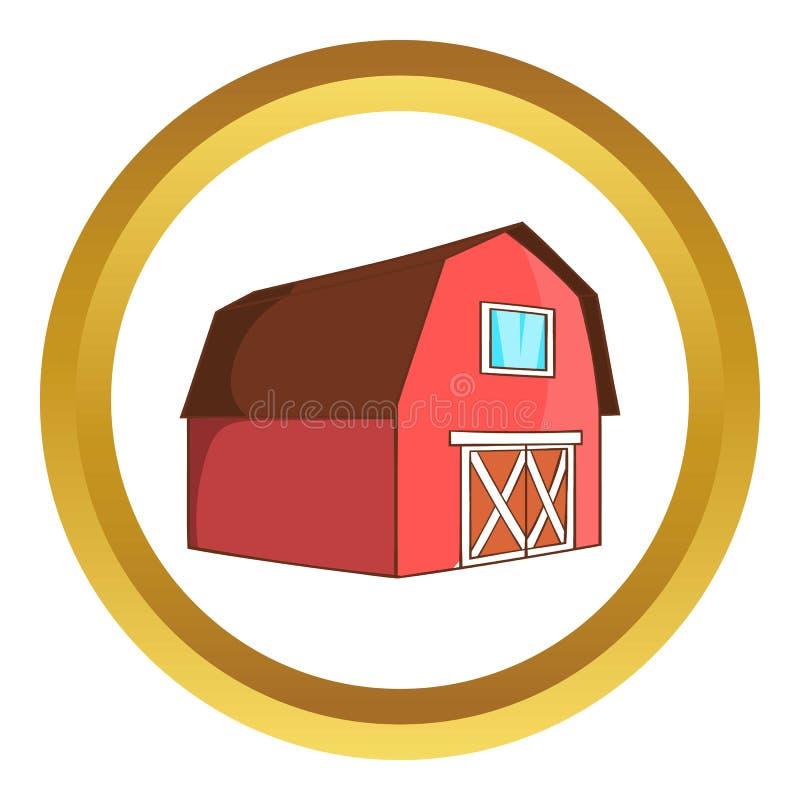 动物传染媒介象的谷仓 向量例证