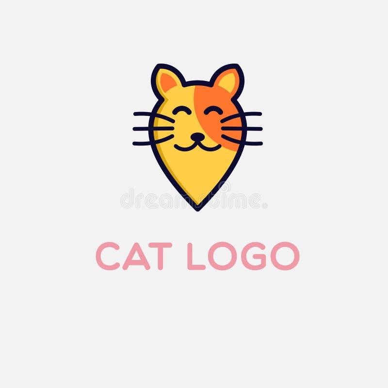 动物商标设计 皇族释放例证
