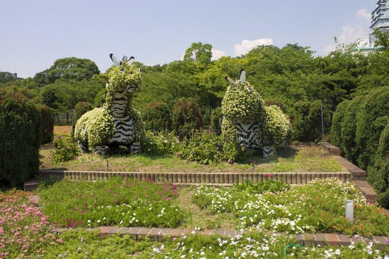 动物在Tennoji公园 库存照片