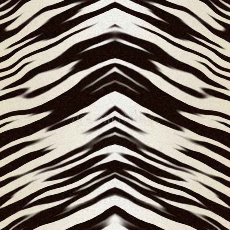 动物地毯皮肤 库存例证
