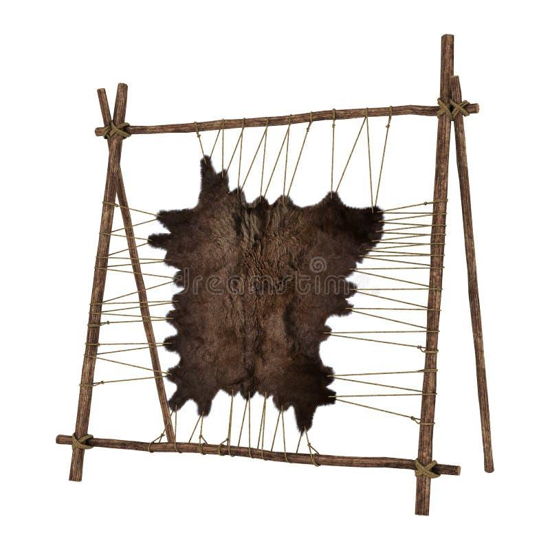 动物毛皮 皇族释放例证