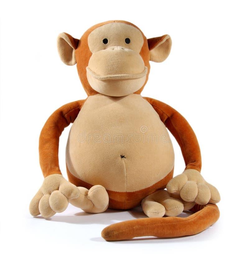 动物猴子玩具 免版税库存图片