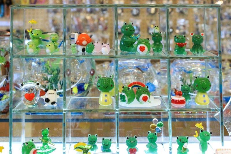 动物玻璃模型 库存照片