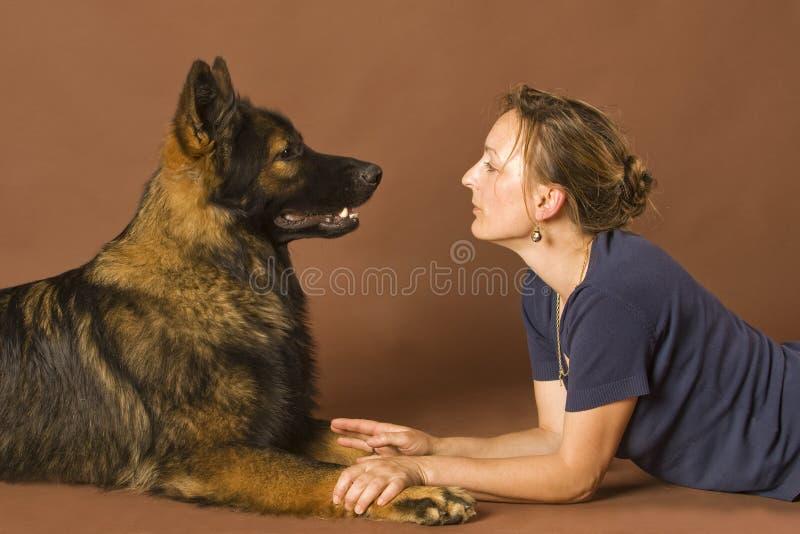 动物谈话 免版税图库摄影