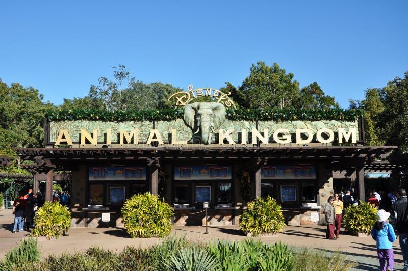 动物迪斯尼入口王国 免版税库存照片