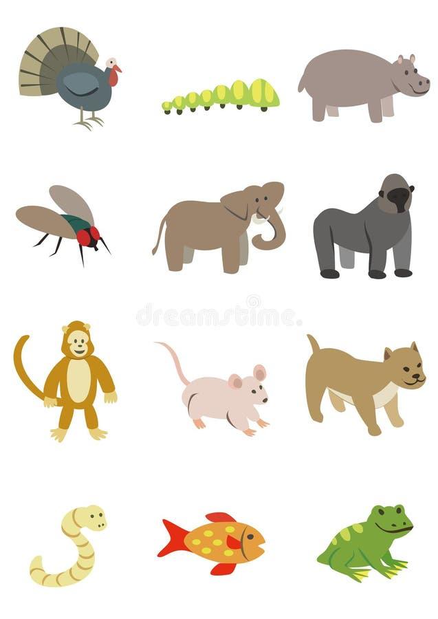动物组装4 免版税库存图片