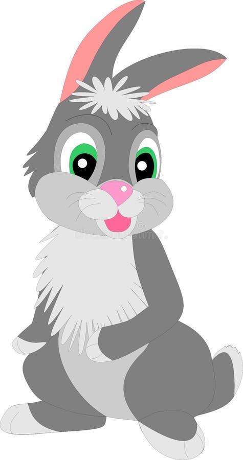 动画片兔子 向量例证