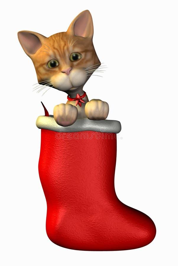 动画片圣诞节剪报全部赌注路径储存 免版税库存图片