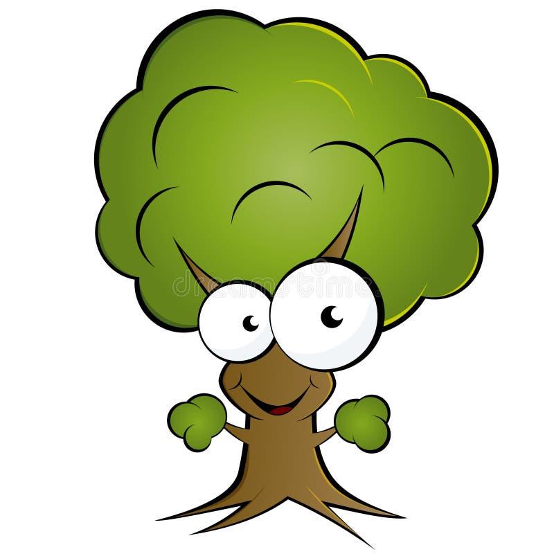 动画片愉快的结构树 皇族释放例证