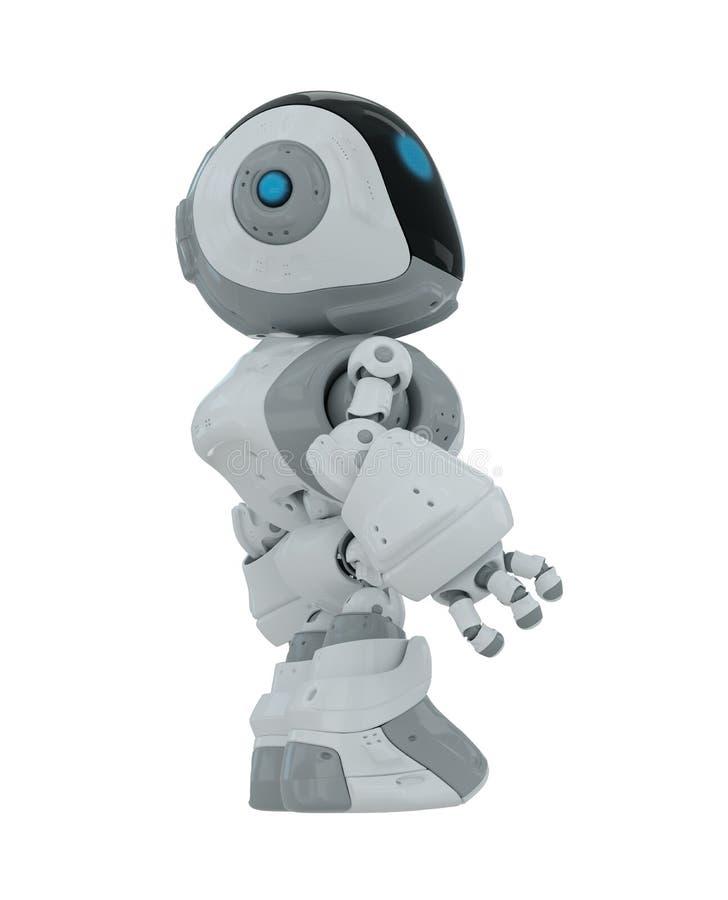 动画片机器人 向量例证
