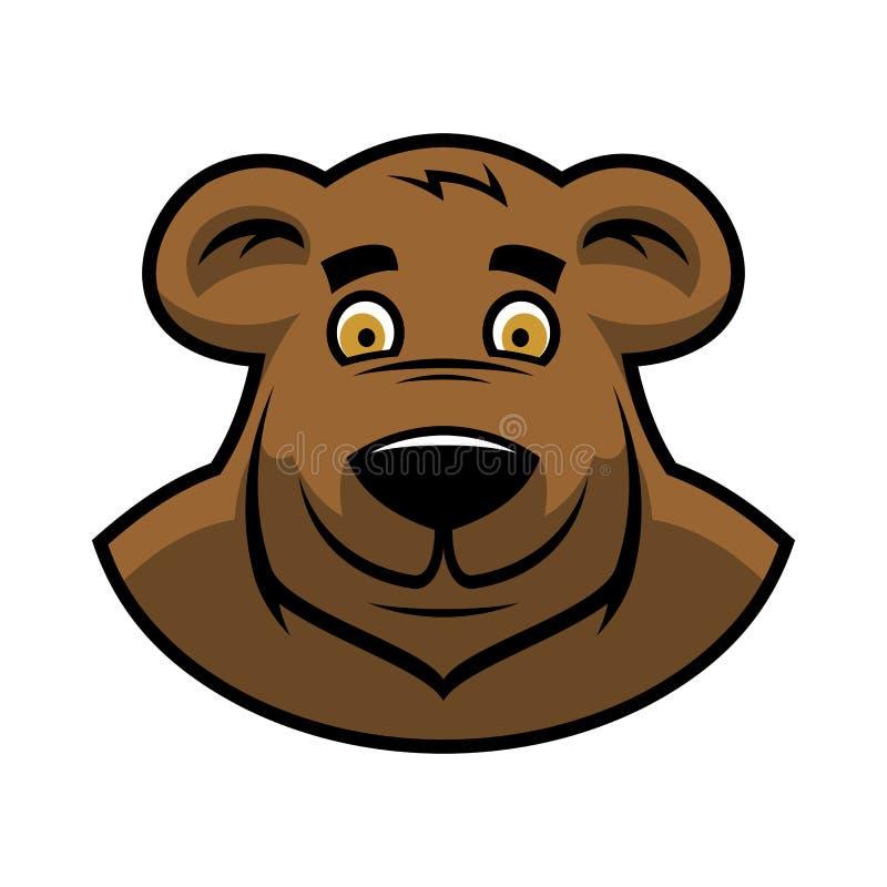 动画片熊头图片