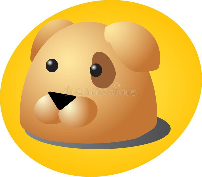 动画片狗 库存例证